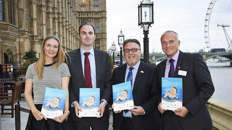 New baby swimming guidelines launched baby swimming standards launch parliament october 2015 810 810 456 80 s c1