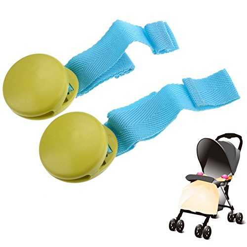 Winstory 2pcs Multi-functional Baby Toddler Pushchair Quilt Blanket Clip Trolley Catch Clamp 41eYRS0lmuL