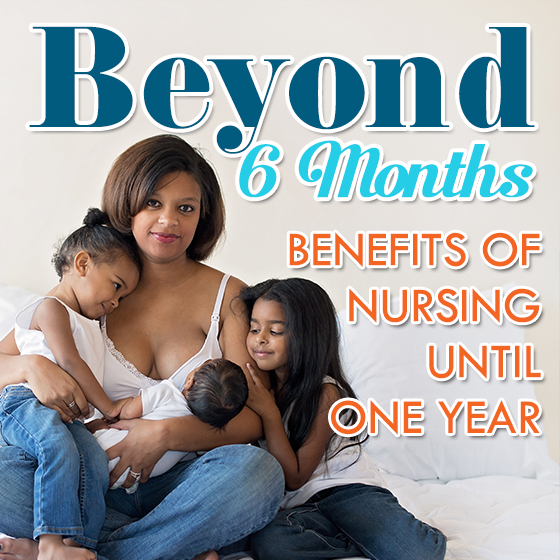 Benefits of Breastfeeding Until One Year