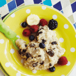 Zeta Citi Black Stroller Buggy Pushchair recipe for baby banana rice pudding with berries and chia seeds 150x150