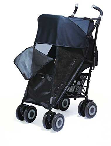 Shade-a-Babe Buggy Sunshade Black
