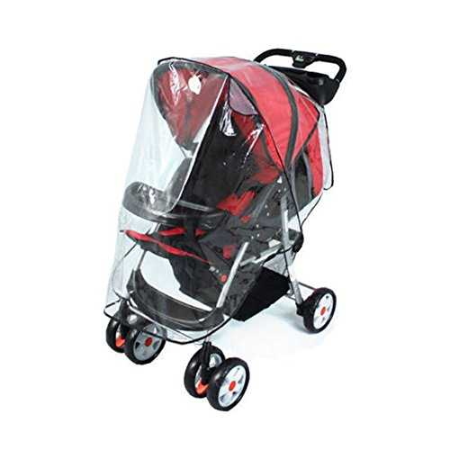 Universal Rain Cover for Stroller without Hood