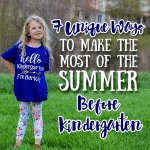 Demystifying Prenatal Vitamins 7 unique ways to make the most of the summer before kindergarten 150x150