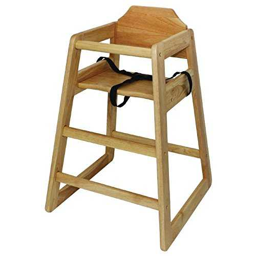 bolero wooden highchair Bolero Wooden Highchair Natural Finish For Dining And Cafe 41YVEZjbtPL