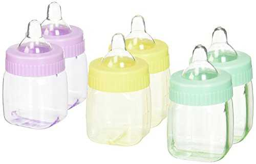 Multi-Coloured Fillable Baby Bottle Favours 41pHdn7TkeL