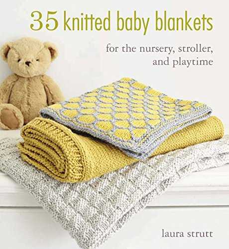 35 Knitted Baby Blankets: For the nursery, stroller, and playtime 51Er12iOiWL