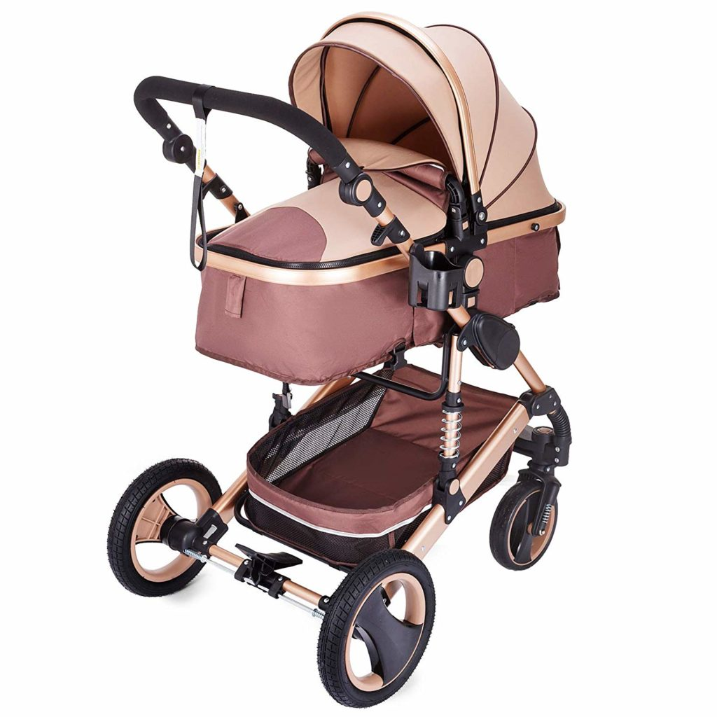 Hopopular Folding Luxury Baby Stroller