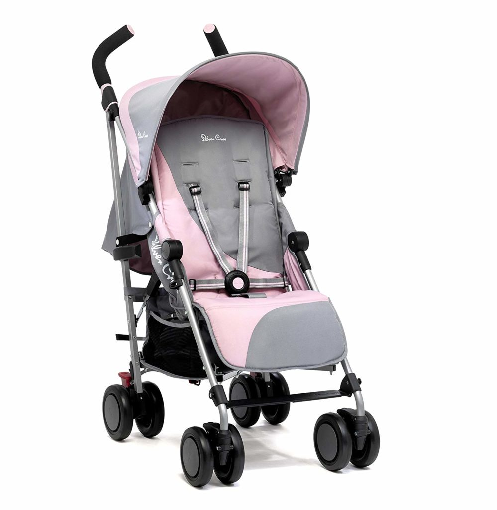 silver cross pink buggy