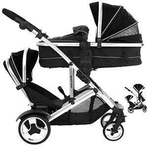 travel systems for twins suitable from birth