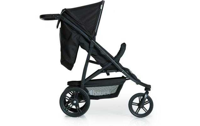 Hauck Rapid 3 Pushchair - CaviarBlack