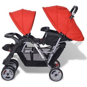 vislone double buggy stroller