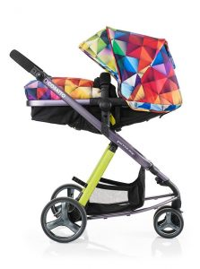 Cosatto Woop Pushchair, Suitable from Birth to 15 kg, Spectroluxe